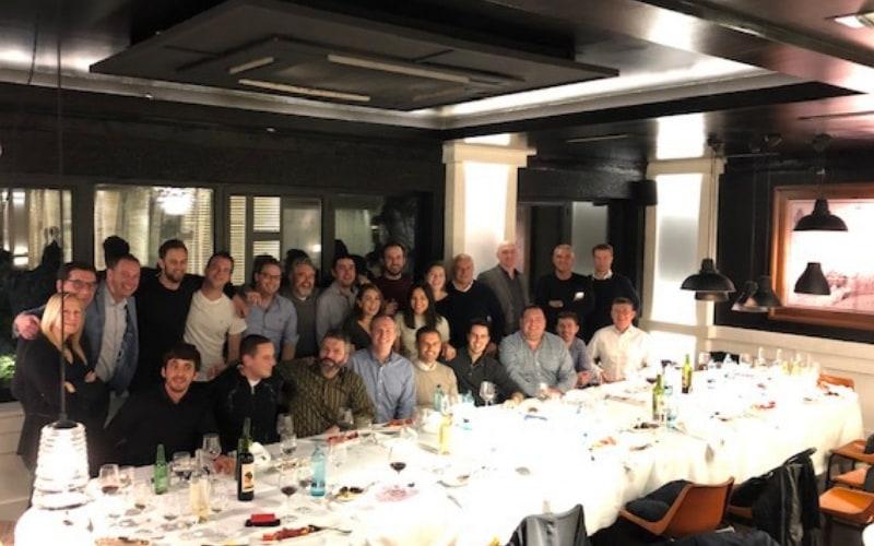 Comite mercado residencial Europeo de Lutron 2018 en Barcelona