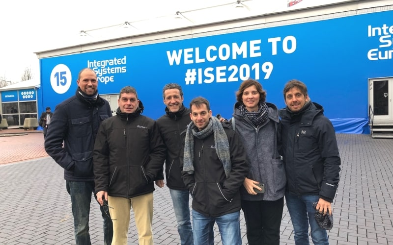 We visited the ISE fair organized by CEDIA in Amsterdam