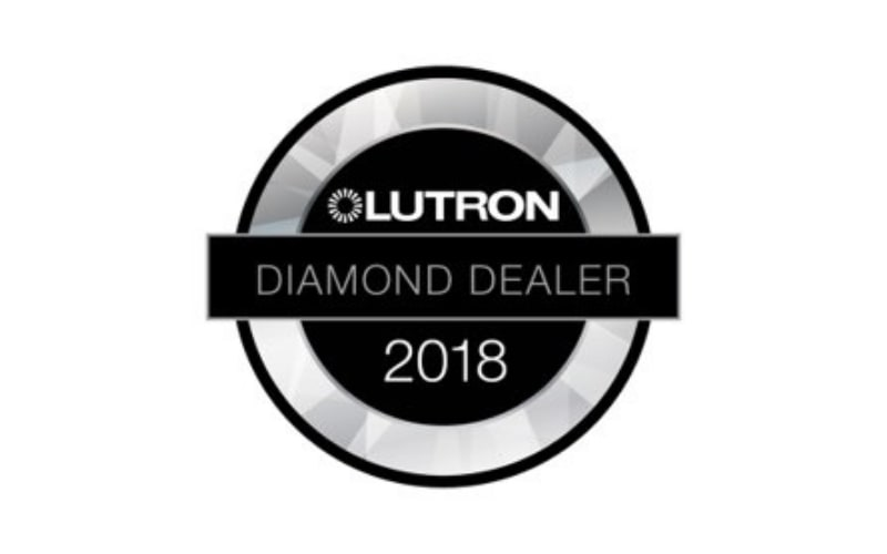 We obtain the status of Diamond Dealer from Lutron