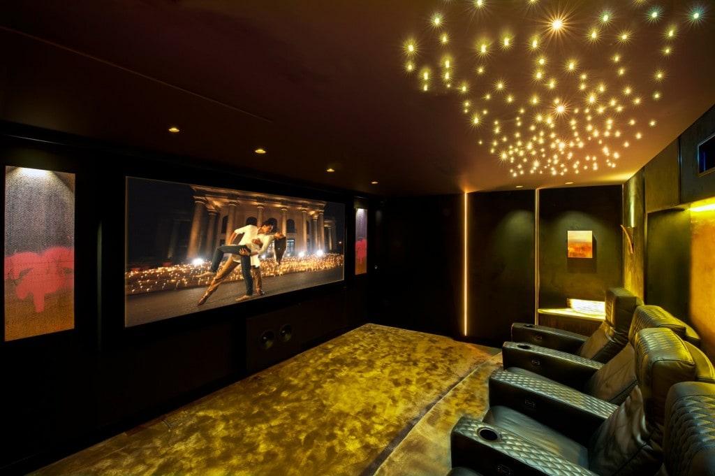 illusion home cinema Sonance speakers
